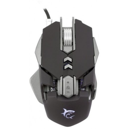 White Shark Shaka Zulu 4800 DPI LED Gaming muis