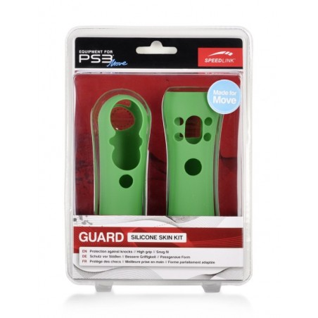 GUARD Silicone Skin Kit for PS3 Move,green