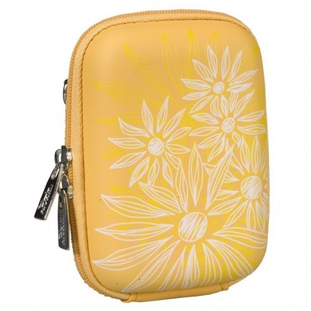 Rivacase 7023 (PU) Digital Case yellow (flowers)