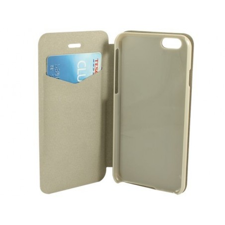AA Iphone 6 Folio (Brown) Ultra Slim 1Mm Thick Premium Booklet Flip Case