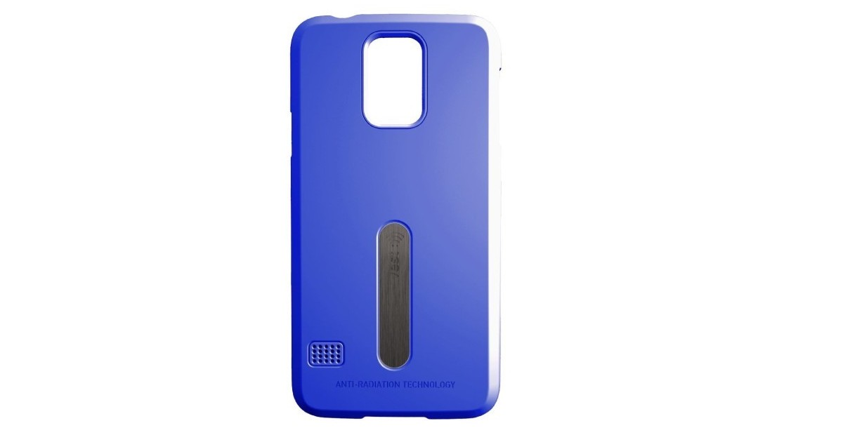 Vest Anti-Radiation Case for Galaxy S5 - Blue