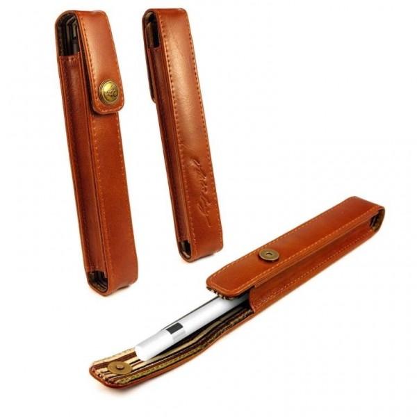 Alston Craig vintage lederen hoes voor Apple iPad Pen / Pencil- Bruin