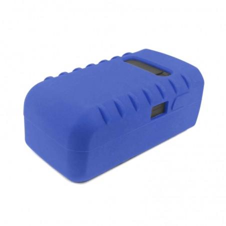 Tuff-Luv Silicone Gel bescherm hoes voor Garmin Varia Light- Blauw