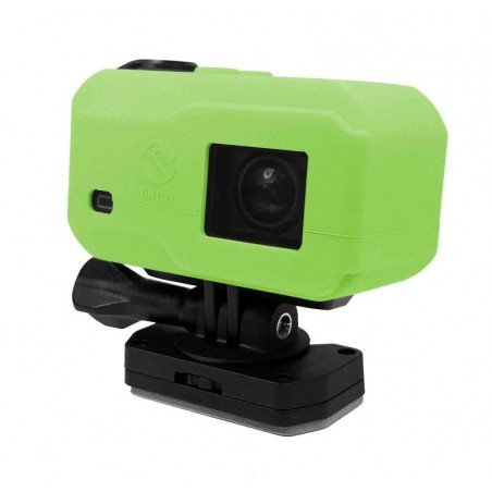 Tuff-Luv Silicone Gel hoes voor Garmin Virb X / XE Camera- Groen