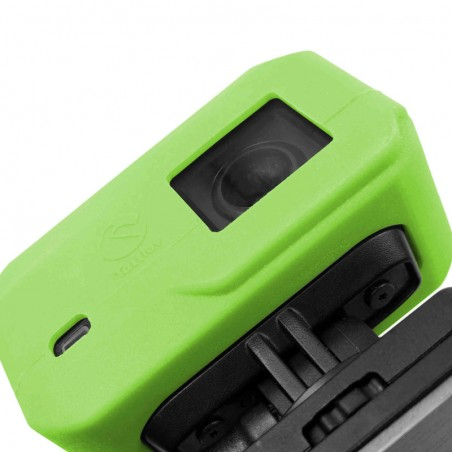 Tuff-Luv Silicone Gel hoes voor Garmin Virb X / XE Camera- Groen
