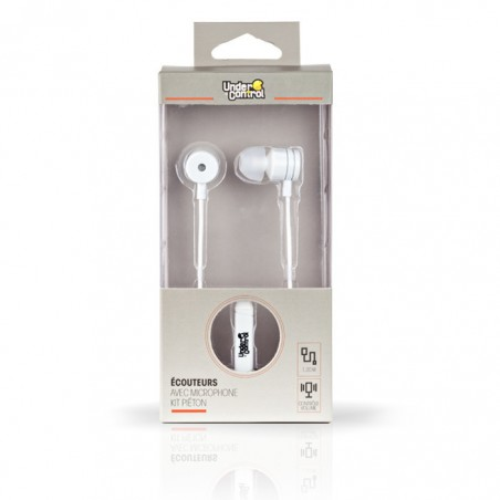 Under control in-ear koptelefoon, wit