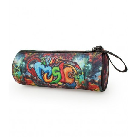 Delbag Graffiti - DJ - Etui - 21 cm