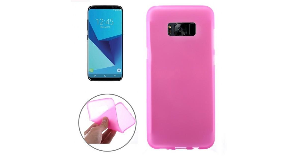 Tuff-Luv - Zachte TPU Case - Voor de Samsung Galaxy S8 - Roze