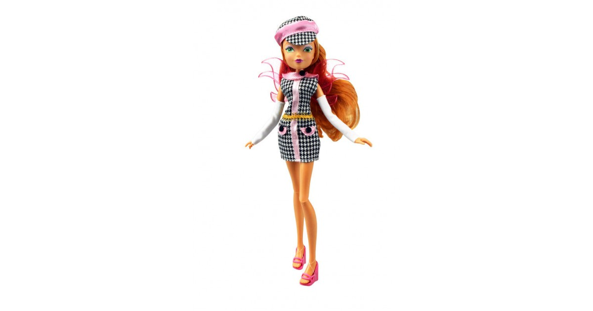 Winx: Charming Fairy - Pop - Flora - 28 cm groot