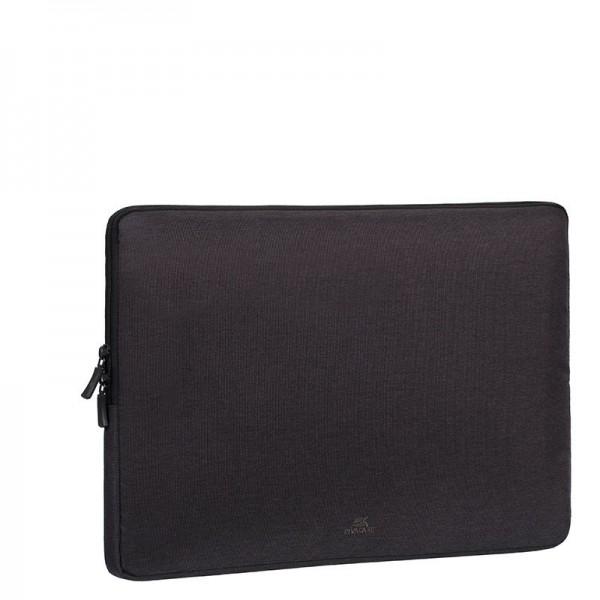 Rivacase - Laptop sleeve - 15,6 inch - zwart