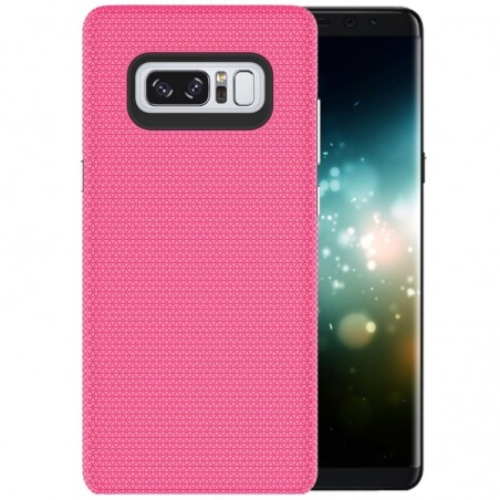 Tuff-luv - Dubbel laags antislip case voor de Samsung Galaxy note 8- roze