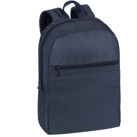 RivaCase Laptop Rugzak - 15.6 Inch - Extra vak voor 10.1 Inch tablet - Donker Blauw