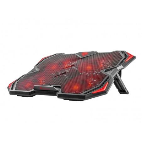 Genesis Laptop cooler OXID 15,6 inch rood
