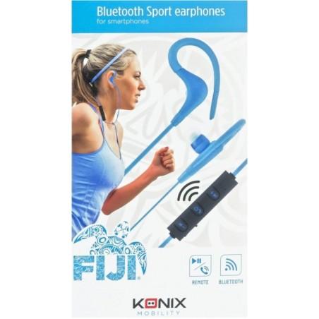 Konix- Fiji bluetooth sport in-ear oortjes -blauw