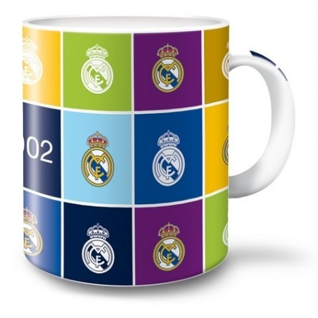 Real Madrid - Porseleinen Mok - 300 ml - Multicolor