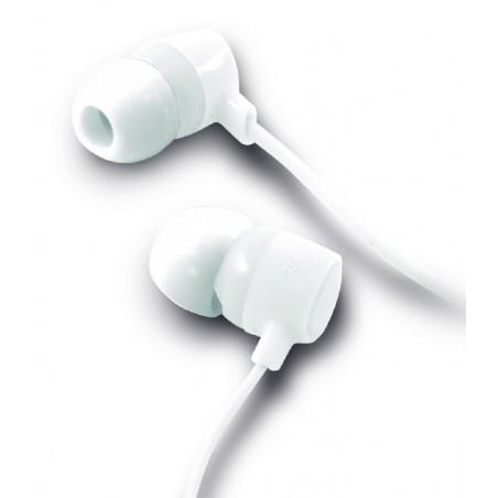 Ksix - Go en Play Small2 Koptelefoon met Microfoon - Wit