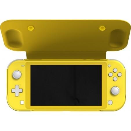 Nintendo Switch Lite flipcase - geel