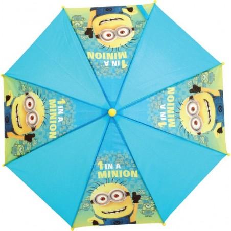 Minions - Paraplu - 74 cm - Blauw en geel