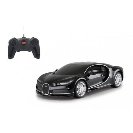 RC Bugatti Chiron 1:24 - 27MHz - zwart