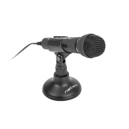 Natec Adder - Microfoon - Zwart