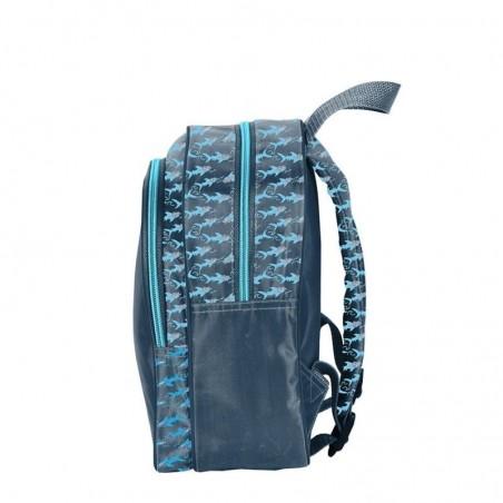 Maui Rugzak  26 cm hoog - Blauw