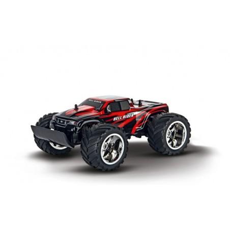 Carrera RC - Hell Rider - Afstand bestuurde auto - 9 km/u