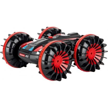 Carrera RC - All-Terrain Stunt Car - Afstand bestuurbare auto - Zwart en Rood gekleurd
