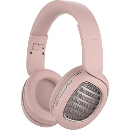 Snopy SN-BT55 DIAMOND TF Kart - Bluetooth headset met micro SD kaart  - roze
