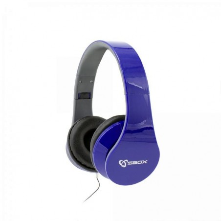 Sbox Koptelefoon HS-501BL Blueberry - Blauw
