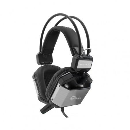 White Shark 7.1 Jaguar gaming headset - zwart en silver