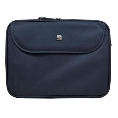 New York Laptop bag 15.6 inch - Marine blauw