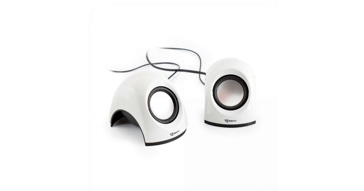 Sbox 2,0 Speaker SP-092W Coconut, White