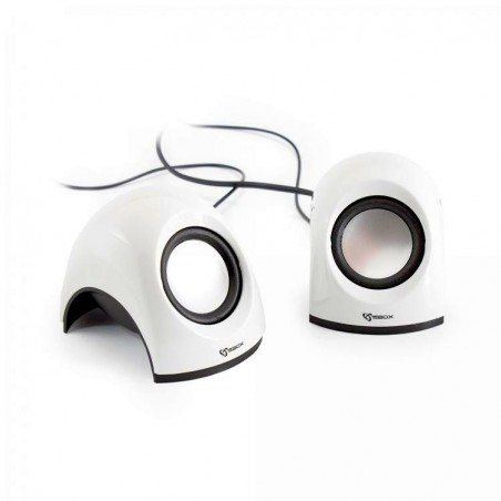 Sbox 2,0 Speaker SP-092W Coconut, White