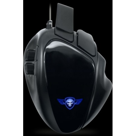 Spirit of Gamer Elite M70 programmeerbare RGB gaming muis - 4000 dpi-  rapid fire functie