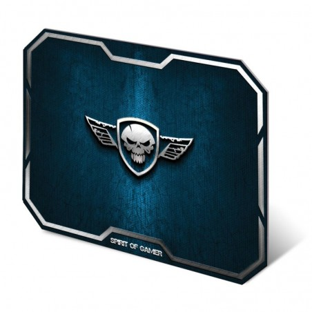 Spirit of Gamer - Muismat Skull - Medium - Blauw