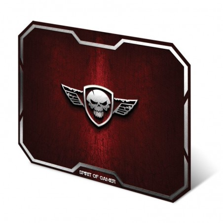 Spirit of Gamer - Muismat Skull - Medium - Rood