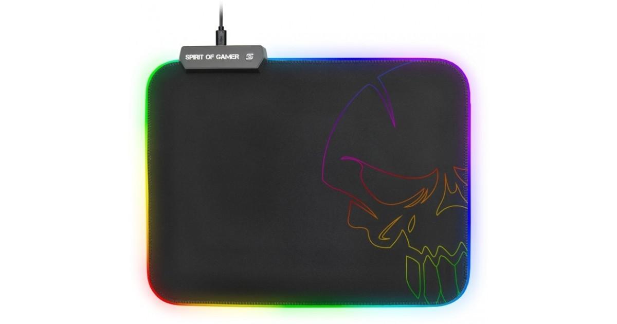 Spirit of Gamer RGB gaming muismat - mediumformaat -