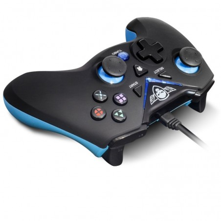 Spirit of Gamer - Wired Controller XGP - PC - PS3 - Zwart met Blauw