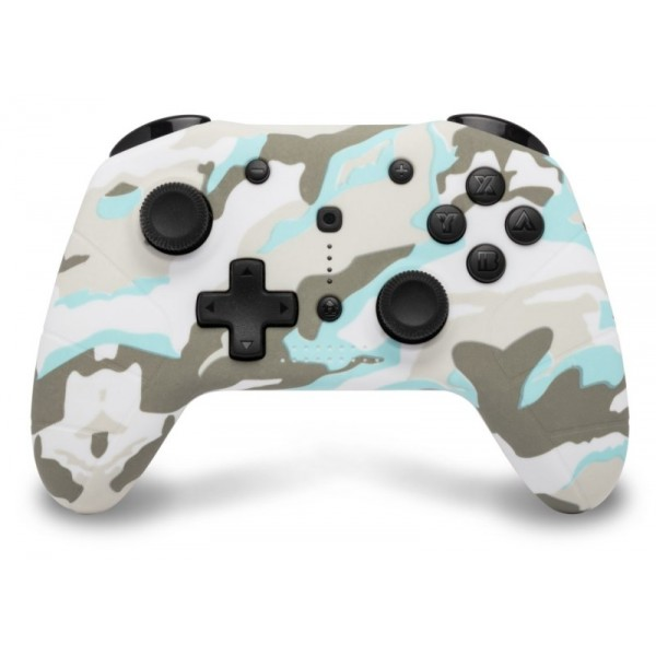 Nintendo Switch - Draadloze Bluetooth Controller - Snow White Camo