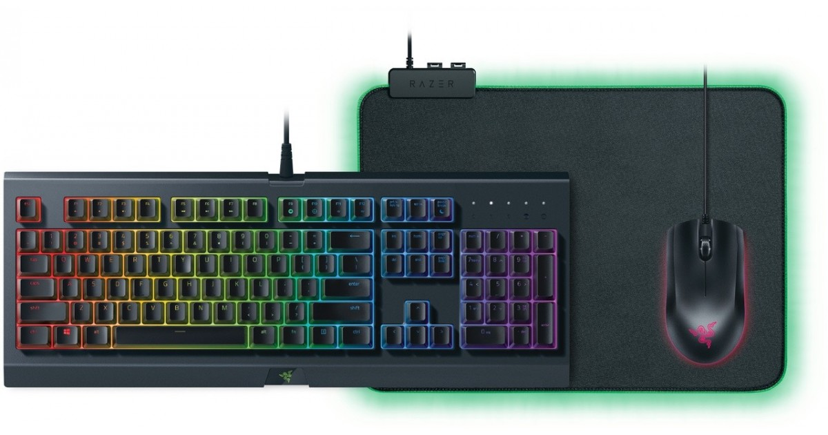 Razer Chroma RGB Gaming Bundle - Toetsenbord / Muis(mat) - Qwerty