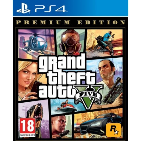 Grand Theft Auto 5 (GTA V) - Premium Edition PS4