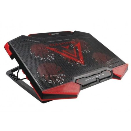 Rampage AD-RC5 Gaming laptop cooler 15 tot 17 inch