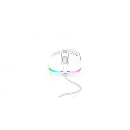 Xtrfy M4 Ultra Light - Optische Esport Gaming muis met RGB - Wit