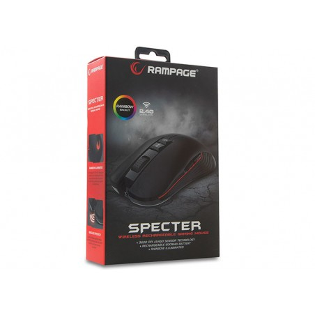 Rampage SMX-R20 Specter draadloze gaming muis