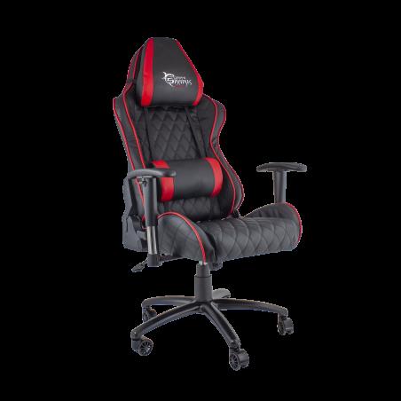 White Shark gaming stoel Pro Racer zwart-rood
