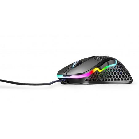 Xtrfy M4 Ultra Light - Optische Esport Gaming muis met RGB - Zwart