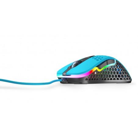 Xtrfy M4 Ultra Light - Optische Esport Gaming muis met RGB - Blauw