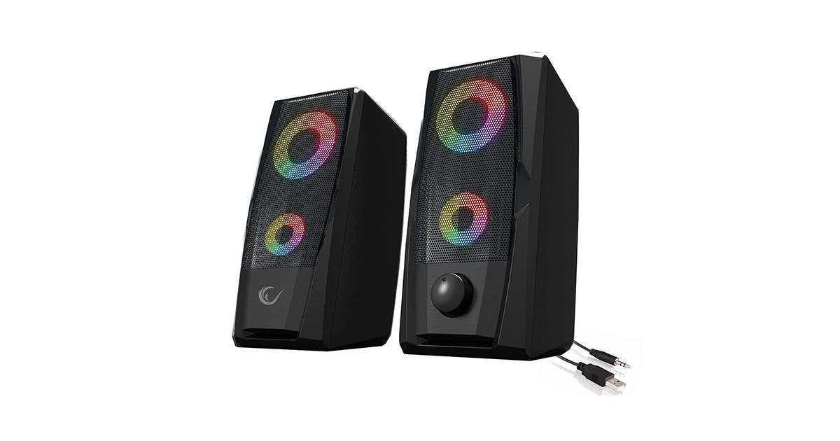 Rampage RMS-X9 RGB Gaming Stereo Speakerset