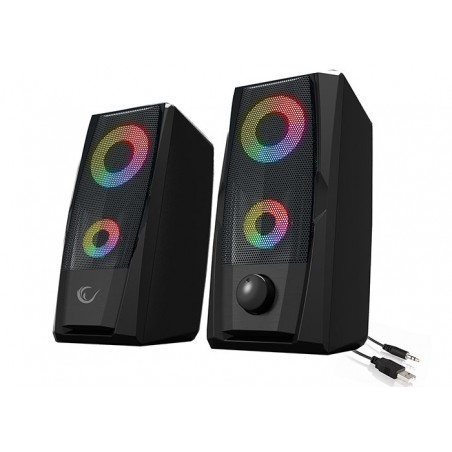 Rampage RMS-X9 RGB Gaming Stereo Speakerset