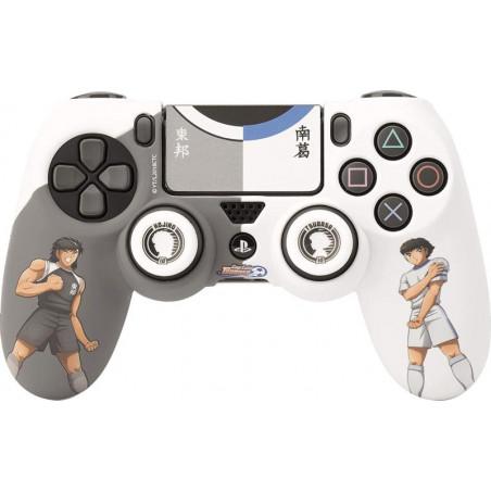 Captain Tsubasha - Versus PS4 siliconen controller skin en thumb grips